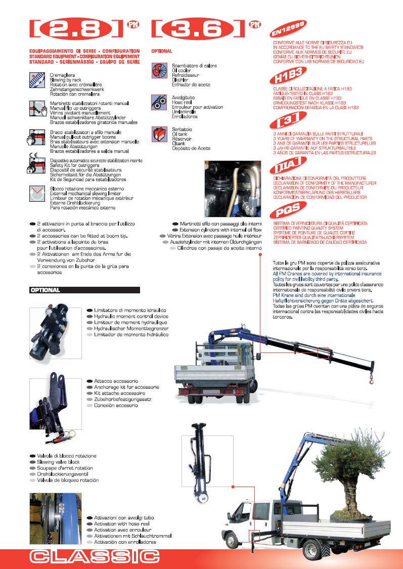 PM 2.8 Ton Articulating Crane.